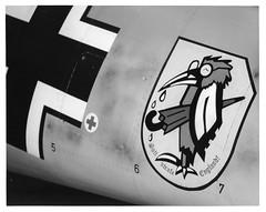 """God Punish England"" (Carlos Cruz Trabanino) Tags: bw film museum darkroom print airplane nikon fighter kodak tmax aircraft flash nazi omega wwii sb600 f100 worldwarii wa epson enlarger warbirds rc speedlight vc ilford paulallen emil everett bf109 c700 battleofbritain tmx rodenstock v500 fhc tmaxdeveloper painefield photopaper flyingheritagecollection resincoated multigradeiv variablecontrast 105mmvrf28micro messerschimtt polymaxt carloscruzphotography bwfp 50mmf35enlarginglens"