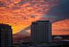 Living in the Shadow of the Mountain, Tacoma (tacoma290) Tags: shadow sky mountain skyline buildings fire nikon risk mountrainier pacificnorthwest tacoma drama pnw ranier livingintheshadowofthemountaintacoma