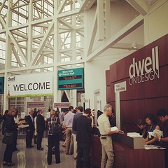 We're here at Dwell on Design! Can't wait to see everything and meet new folks! (Yahoo! Homes) Tags: dod2012 dwellondesign2012