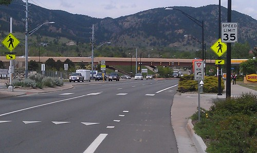 Photo - Baseline Road and Canyon Creek Pedestrian Crossing (Completed)