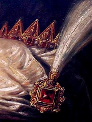 The Feast of Esther, Jan Lievens--Detail 3