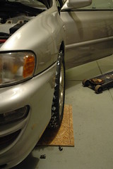 2013-01-05 FirstStudMounted_20 (Absinthe-N-me) Tags: subaru iceracing studdedtire