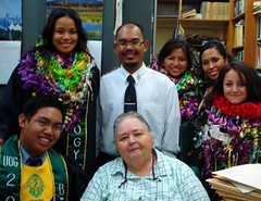 Dr. Raulerson and Graduate Students