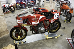 1980 Ducati 900SS - 24 Horas de Montjuc - endurance racer ridden by Jose Mallol and Alejandro Tejedo (Museu Moto Barcelona) (scurvy_knaves) Tags: barcelona espaa classic spain bcn motorcycles automotive catalonia racing ducati 1980 catalua 900ss 24horasdemontjuc museumoto
