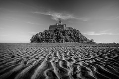 (dawvon) Tags: world ocean travel sea france castle nature architecture landscape ed sand nikon europe zoom patterns wideangle unescoworldheritagesite unesco worldheritagesite mount unitednations normandie lowtide stmichel nikkor normandy  f4 vr afs montstmichel montsaintmichel lenses historicalbuilding zoomlens  f4g unitednationseducationalscientificandculturalorganization 1635mm bassenormandie  fmount vibrationreduction vr2 vrii  wideanglezoom lowernormandy nanocrystalcoat afsnikkor1635mmf4gedvr 1635mmf4gvr