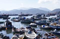 fishermen life (hazyberlin) Tags: hongkong cheungchau sony a35 rural travel ferry fisherman pier
