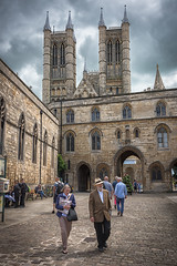 Lincoln, June 24th, 2016. (Jonathan Fletcher Photography) Tags: lincoln lincolnshire cathedral jonathanfletcher nikon 28300mm midlands steep hill