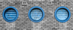 round (Greg Rohan) Tags: stpeters window roundwindow 2016 d7200 building architecture photography wall windows circle round curve