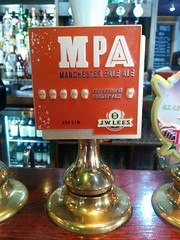 MPA Manchester Pale Ale (DarloRich2009) Tags: mpa manchesterpaleale jwleesandco brewery beer ale camra campaignforrealale realale bitter hand pull