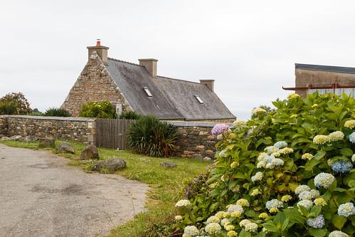 Maison bretonne à Plouezoc'h