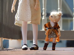 """""""Hello, Roegadyn!"""" (Forest_Daughter) Tags: fairyland realfee pano volks mini dollfie dream doll ffxiv lalafell"""