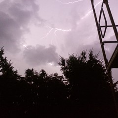storm (dorota_kozlowska) Tags: storm lightning night sky flash blackberry dorota kozowska kozlowska q10