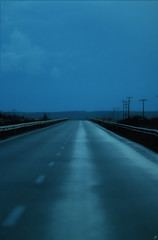 Wintershades (Xenofon Levadiotis) Tags: drive back home night travel speed car automotive warp speedy asphalt tarmac highway route road path barrier life lane lanes auto ring                   voyage trip xalkidiki halkidiki thessaloniki {25}   roadtonowhere winter early morning mist misty fog