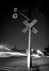 Exa 1C Pacific Electric Wig Wag () Tags: vintage retro classic losangeles la california history 35mm film camera pacificelectric pe trolley redcar exa exakta dresden veb pentacon eastgermany ddr gdr train depot station