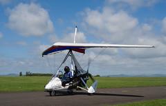 G-CGRS Quik, Scone (wwshack) Tags: egpt flexwing perthairport perthshire quik scone sconeairport scotland microlight gcgrs