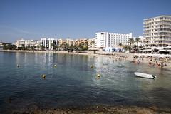 Santa Eulalia (paul jeffrey 1) Tags: santaeulalia ibiza spain espana balearicislands beach summer sea sigma sigma18125 sun eos