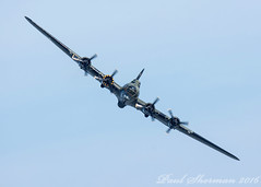 B-17 Flying Fortress - Sally B (muppet1970) Tags: clactonairshow2016 b17 flyingfortress usaaf airshow aircraft plane flying ww2 bomber