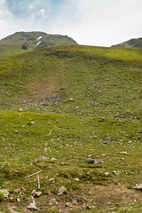 Your line of defense (Raphs) Tags: austria sterreich verwall alps alpen mountains slope grass meadow green fence poles lying line uphill raphs canoneos70d tamronspaf1750mmf28xrdiiildaspherical unfinished