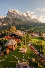 Eiger from Hotel Caprice (Jonnyfez) Tags: grindelwald eiger hotel caprice mountain alps massive high north face summer scale jonnyfez nikon d300 10mm bernese oberland