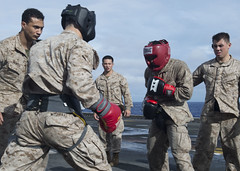 160821-N-YR245-010 (SurfaceWarriors) Tags: boxarg13meu16 ussboxerlhd4 amphibiousreadinessgroup 13thmarineexpeditionaryunit 13thmeu usmarines usnavy cpr1 westernpacificocean