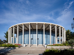 Apolliad Theater (Chimay Bleue) Tags: apolliad theater mesa college midcentury modern modernism architecture architectural photography columns concrete beton brut brutalism san diego sandiego frank hope
