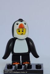 LEGO 71013 Minifigures Series 16-10 Penguin Boy (KatanaZ) Tags: lego71013 collectibleminifiguresseries16 icequeen desertwarrior cyborg cutelittledevil spookyboy hiker wildlifephotographer kickboxer scallywagpirate penguinboy rogue dogshowwinner mariachi spy bananaguy babysitter lego minifigures minifigs