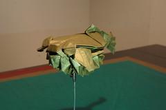 Puffer fish (Juanfran Carrillo) Tags: origami paperfolding paper papiroflexia papel jang yongik