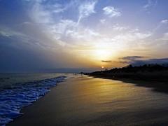 Puesta de sol (Antonio Chacon) Tags: andalucia atardecer costadelsol marbella mlaga mar mediterrneo espaa spain sunset beach