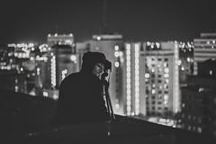 Carter - Night Shooters B&W (toptierlee) Tags: nerdbotphotography nerdbotphoto mypov justgoshoot yqr chasingrooftops nightshooters makeportraits portrait canon 50mm goexplore explorecreate guyfawkes fatalframes blackandwhite