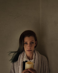 """""""Smelled like something very slow and aged"""" (Adi Korndrfer) Tags: selfportrait coraline neilgaiman literaryweek coralineweek justbecauseilove 366project fineart fujifilm conceptual"""