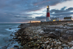 Portland Bill (phil_shawk) Tags: portland bill lighthouse lighthousetrek longexposure sea england uk sunset