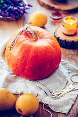 Autumn (apfff) Tags: prettybaked prettybakedpl foodie food fall autumn pumpkin pear lavender fruit warmth cosy candle wood wooden vegetable