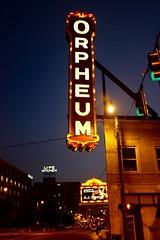 Orpheum (pburka) Tags: orpheum theatre sign neon lights memphis tn tennessee bealest illuminated