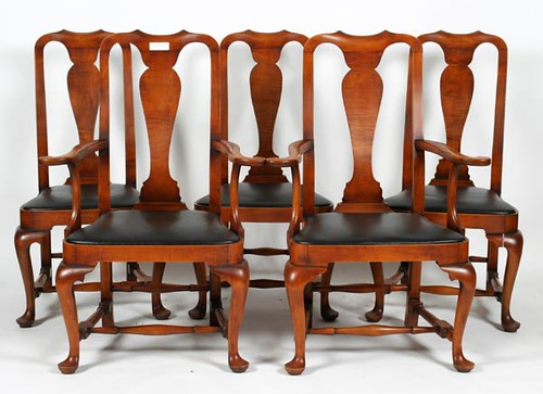 Set of 8 Eldred Wheeler Dining Chairs ($896.00)