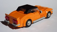 Corvette C3 Stingray L71 (MOCs & Stuff) Tags: lego city town classic chevrolet corvette c3 stingray l71 v8 convertible hard top