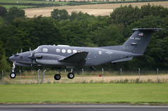 N40Y Beech 200 (Ayrshire Aviation Images) Tags: beechcraft beech kingair n40y prestwickairport prop aircraft aviation