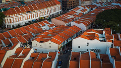 Rooftops (elenaleong) Tags: rooftopsinchinatown singaporechinatown prewarshophouses conservedheritage buildings architecture elenaleong colorsofthepast