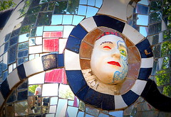 L'OCCHIETTO. (Skiappa.....v.i.p. (Volentieri In Pensione)) Tags: giardinodeitarocchi capalbio arte colori panasonic lumix skiappa nikidesaintphalle
