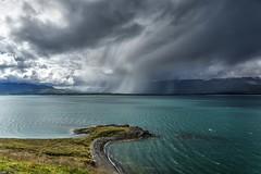 Storm Warning... (scrapping61) Tags: scrapping61 2016 iceland eyjafjrur akureyri fjord storm clouds rain