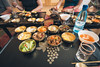 North Korean Lunch (reubenteo) Tags: northkorea dprk food lunch dinner steamboat kimjongun kimjongil kimilsung korea asia delicacies