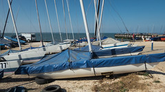 Day Trip To Whitstable - Laid Up Boats (Rob Jennings2) Tags: whitstable beach boats sea
