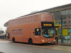 Arriva Merseyside 4204 - LJ51 DJO (North West Transport Photos) Tags: arriva arrivamerseyside arrivanorthwest volvo b7 b7tl volvob7tl wright wrightbus gemini eclipse wrighteclipsegemini wrightgemini lj51djo 4204 birkenhead birkenheadbusstation 464 liverpool newferry arrivalondon londonbus vlw vlw5 bus arrivabrickbus brickbus