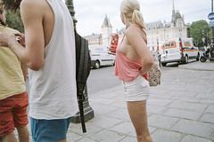 Sans titre (Guy Le Guiff) Tags: streetphotography street strada rue color argentique film analogue csp epic gimme riot world stadium urban unpose uneasy frame stolen dino