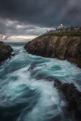 Faro Tapia (Asturias, Spain) (Tomasz Raciniewski) Tags: tapia asturias lighthouse faro isla