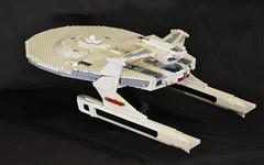 DSC_4698 (jonmunz) Tags: lego star trek spaceship uss reliant starship wrath khan
