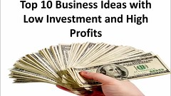 TOP 10 business ideas with low investment and high profits (makecashonline411) Tags: business ideas top10 low investment high profits with makemoney online