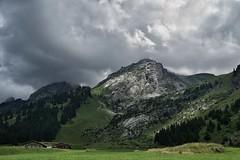 Stormy sky (cj3t) Tags: laclusaz alps aravis coldesaravis lacdesconfins mountains sonya6000 zeiss