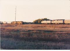 Old Gold (MILW157) Tags: amtrak 7 empire builder nashotah bandit soo line watertown sub gp40 f40ph train railroad