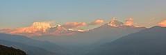 Annapurna Himal (shathel fahs) Tags: nepal snow mountains sunrise landscape nikon himalaya pokhara d800 annapurnahimal