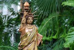 New York Botanical Garden Holiday Train Show 2012: Statue of Liberty (ho_hokus) Tags: newyorkcity newyork nikon unitedstates manhattan statueofliberty nybg 2012 newyorkbotanicalgarden holidayshow holidaytrainshow nikond80 tamron18270mmlens